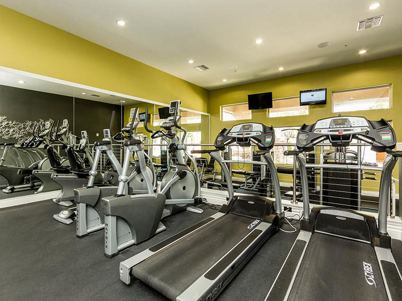 Fitness Center | Cornerstone Park Henderson Apartments