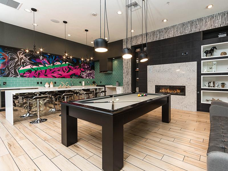Interior Clubhouse | Cornerstone Park Apartments in Henderson NV
