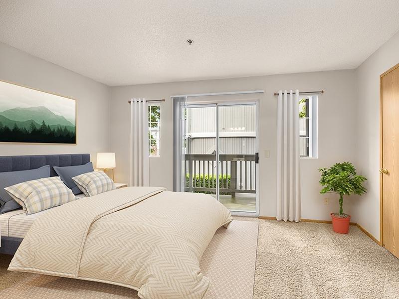 Bedroom | Bridge Creek Apartments | 3x2