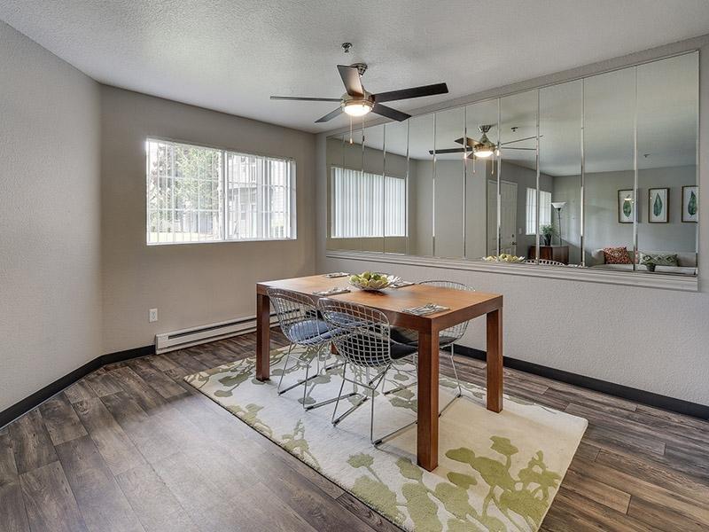 Dining Room | Bridge Creek Apartments