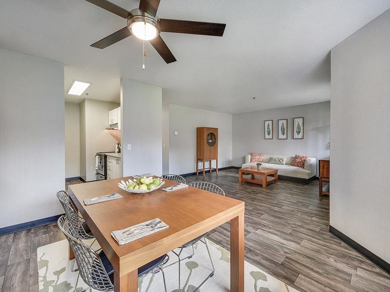 Dining Room & Living Room  | Bridge Creek Apartments