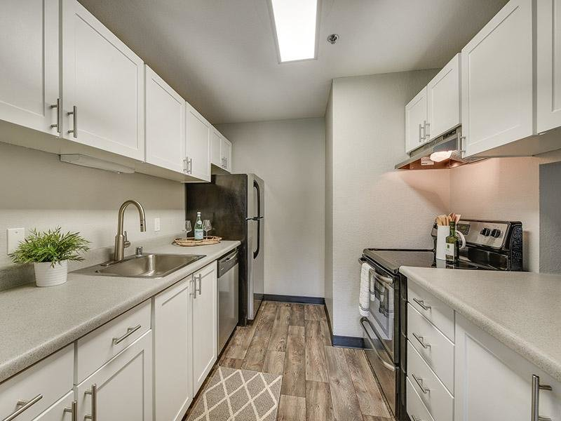 Fully Equipped Kitchen | Bridge Creek Apartments