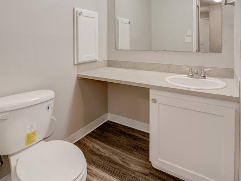 Bathroom | Pointe East 98424 Apartments