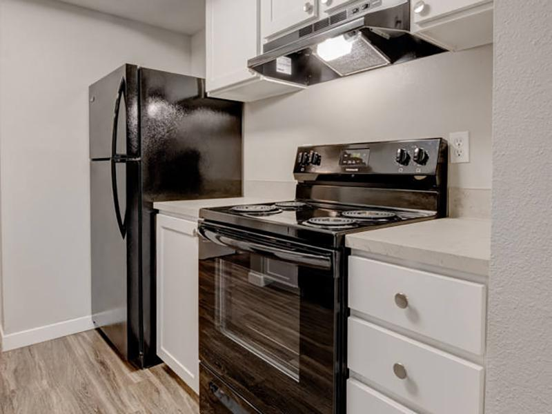 Apartment Kitchen | Pointe East Apartments in Fife WA