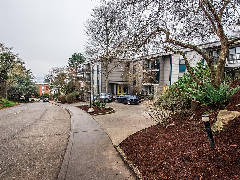 Property Entrance | The Magnolia Apartments