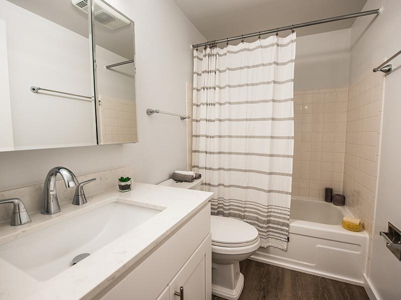 Bathroom  | The Magnolia Apartments in Seattle, WA