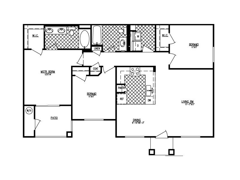 Floor Plans at The Edge at Traverse Point Apartments