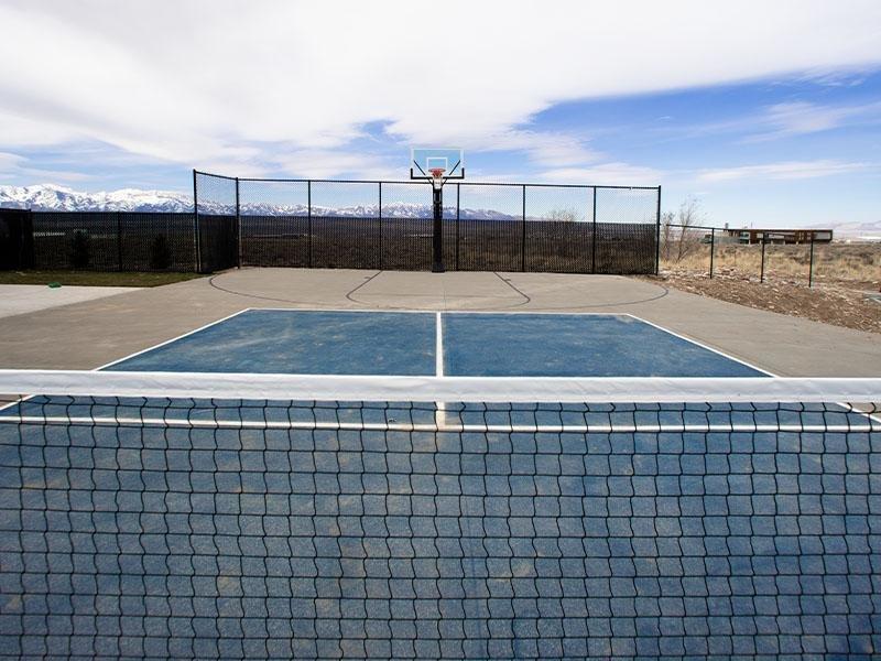 Tennis Court | Mountain Valley Meadows