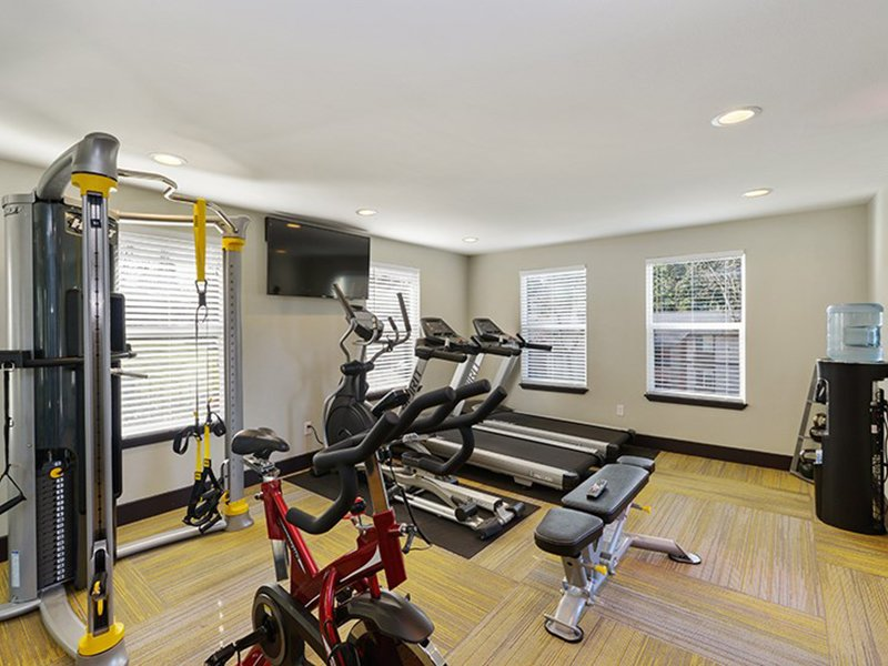 Fitness Center | The Row Apartments