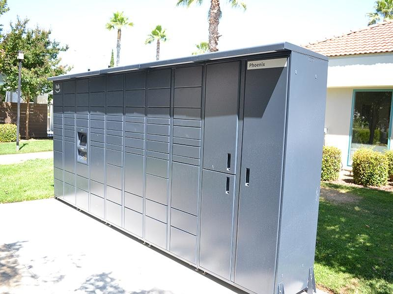 Mail Lockers | Ascent Townhomes in Fresno, CA