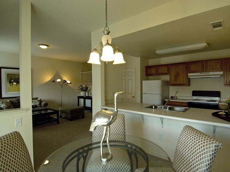 Kitchen | Ascent Townhome Apartments