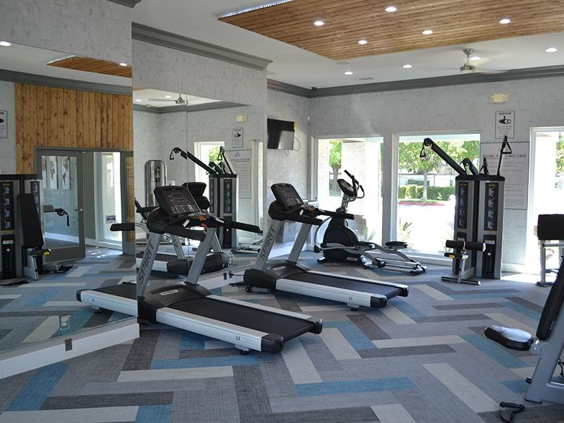 Gym | Ascent Townhomes in Fresno, CA