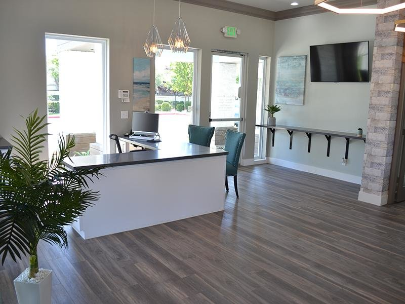 Office Interior | Ascent Townhomes in Fresno, CA