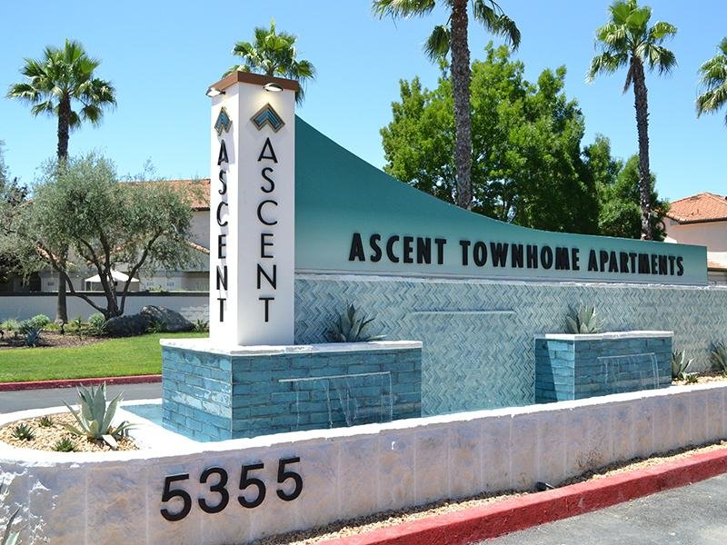 Welcome Sign | Ascent Townhomes in Fresno, CA