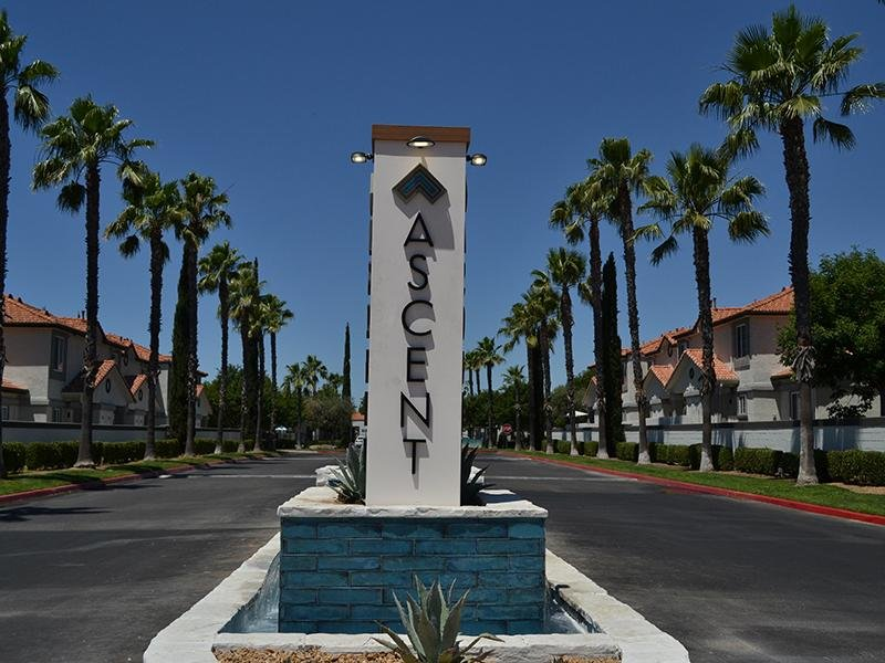 Sign | Ascent Townhome Apartments