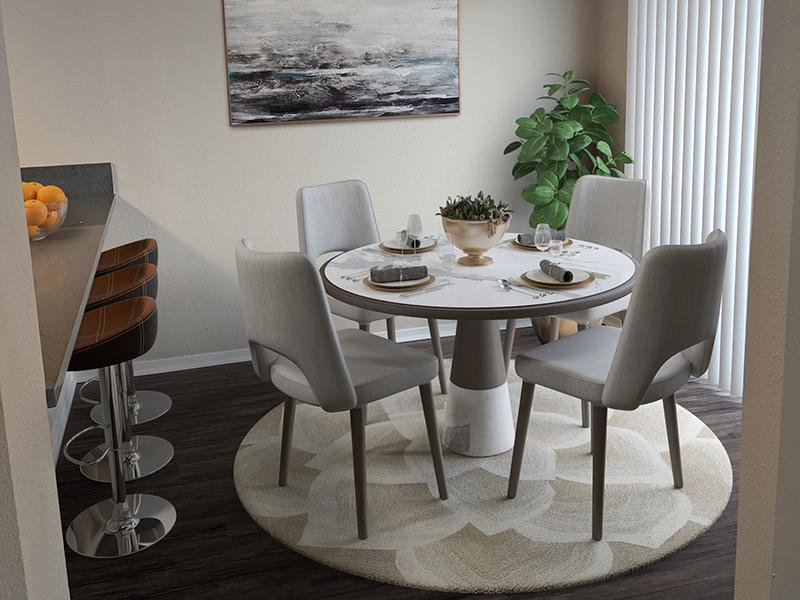 Dining Room | Ascent Townhome Apartments Apartments