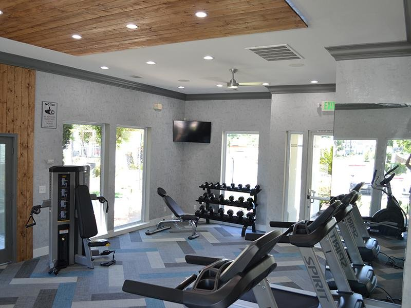 Fitness Center | Ascent Townhomes in Fresno, CA
