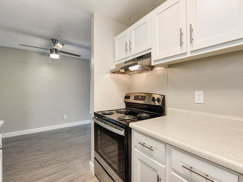 Kitchen | Crossing at Wyndham Apartments in Sacramento CA