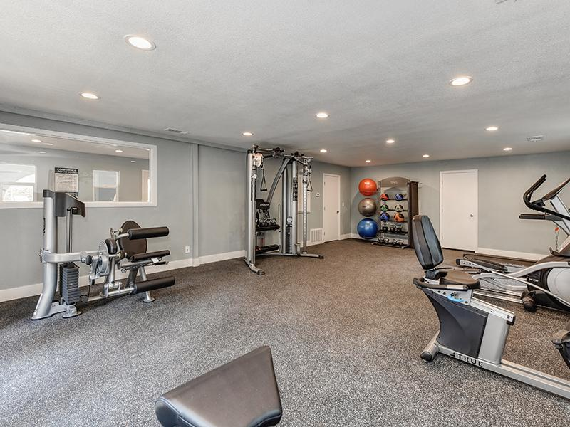 Fitness Center | The Crossing at Wyndham Apartments in Sacramento, CA