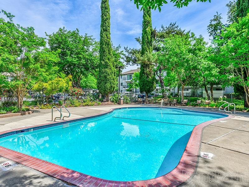 Exterior Swimming Pool | Crossings at Wyndham Apartments in Sacramento CA