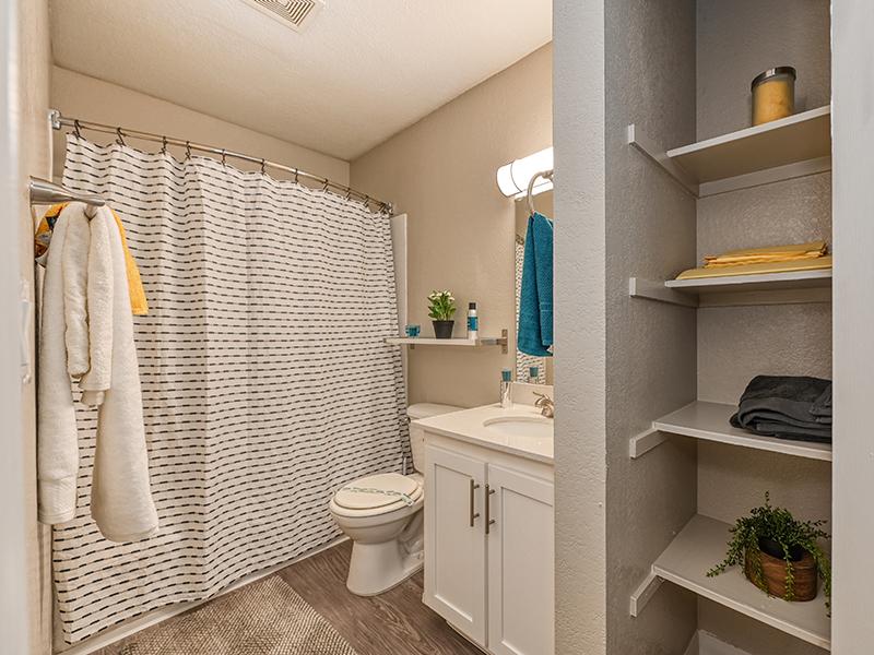 Bathroom | The Crossing at Wyndham Apartments in Sacramento, CA