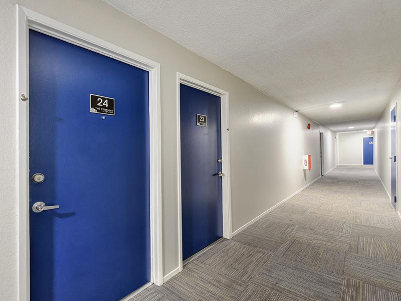 Apartment Entrance | Crossing at Wyndham Apartments in Sacramento CA