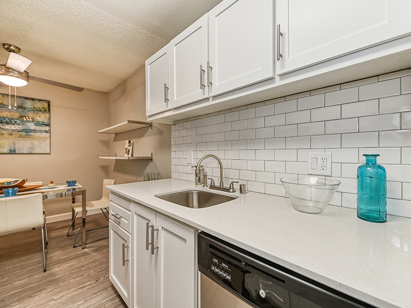 Kitchen Counterspace | The Crossing at Wyndham Apartments in Sacramento, CA