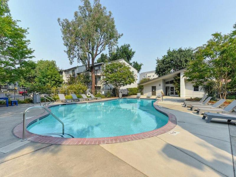 Pool | The Crossing at Wyndham Apartments in Sacramento, CA