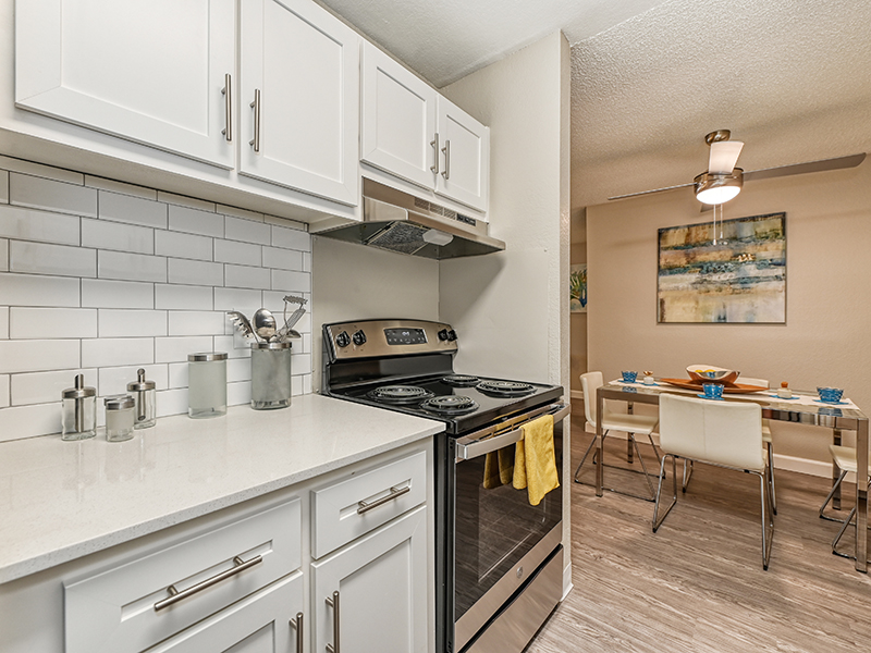 Fully Equipped Kitchen | The Crossing at Wyndham Apartments in Sacramento, CA