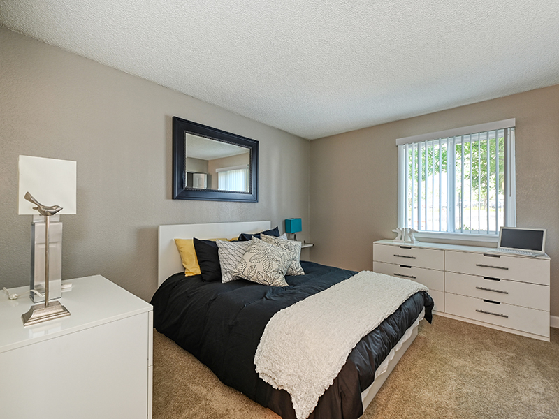 Bedroom 1 | The Crossing at Wyndham Apartments in Sacramento, CA
