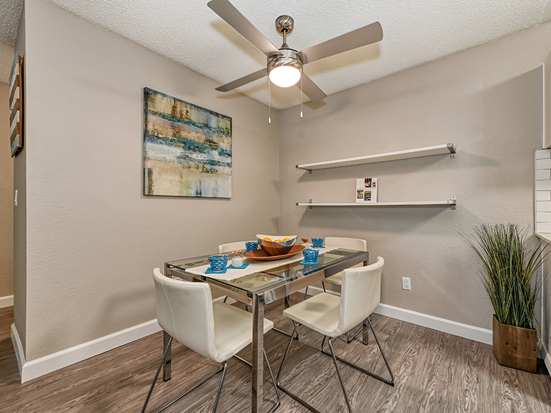 Dining Area | The Crossing at Wyndham Apartments in Sacramento, CA