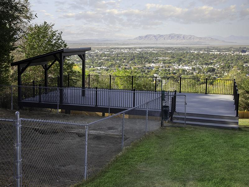 Community Patio | Lookout Pointe Apartments in Provo, UT