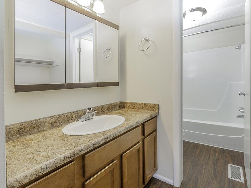 Bathroom | Lookout Pointe Apartments in Provo, UT