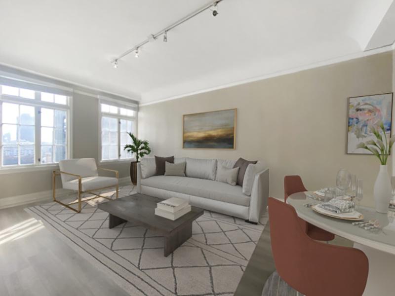 Living Room | Nob Hill Place