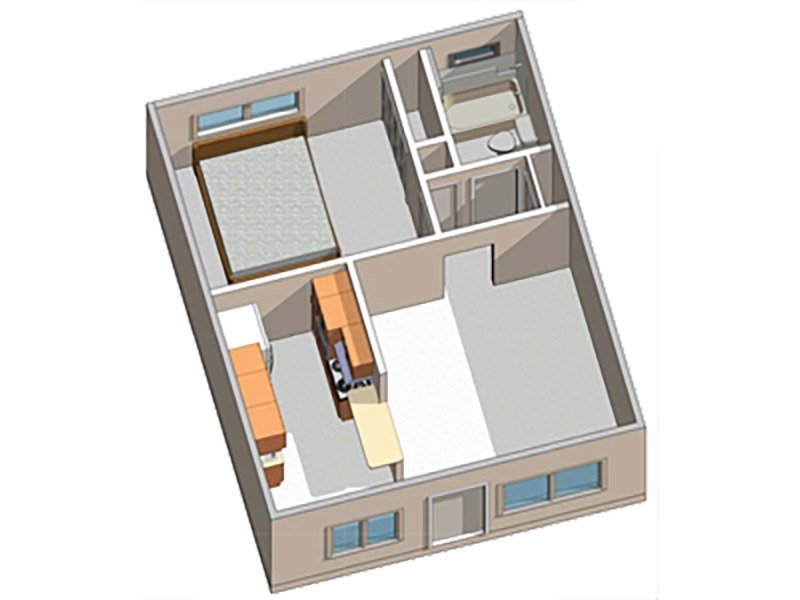 Floor Plans at Alpine Vista Apartments