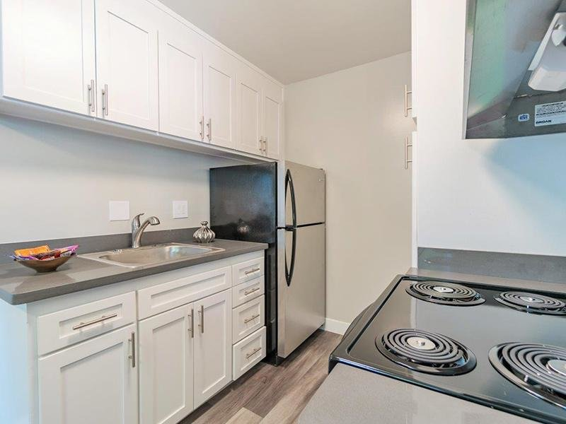 Fully Equipped Kitchen | Alpine Vista Apartments