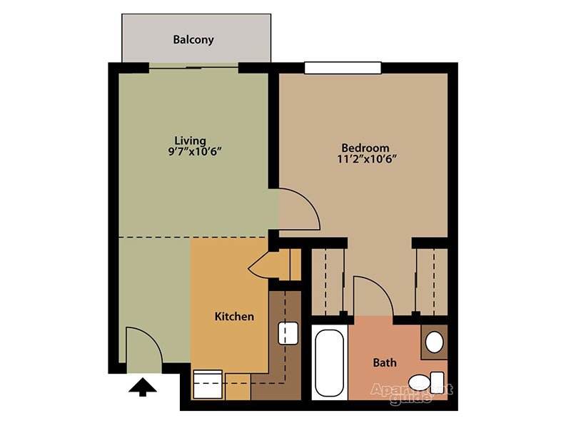 Floor Plans at The Orchards Senior Apartments