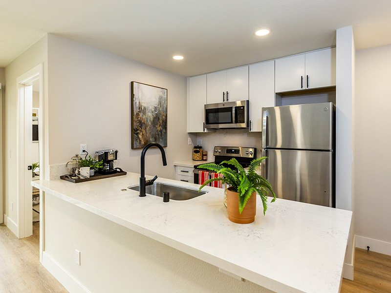 Fully Equipped Kitchen   Enclave Apartments