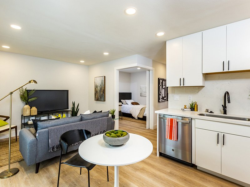 Living Room   Enclave Apartments