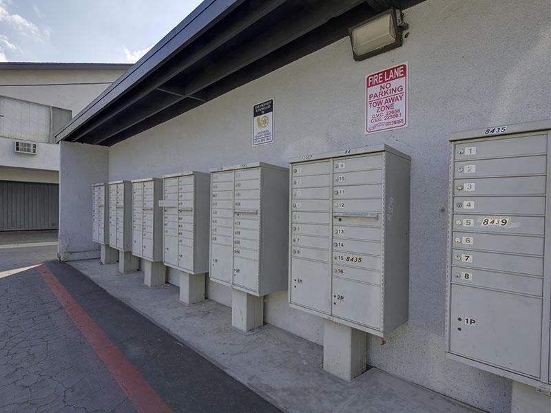 Mailboxes - Apartments for Rent in Downey, CA