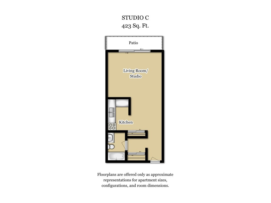 Floor Plans at Camden Village Apartments