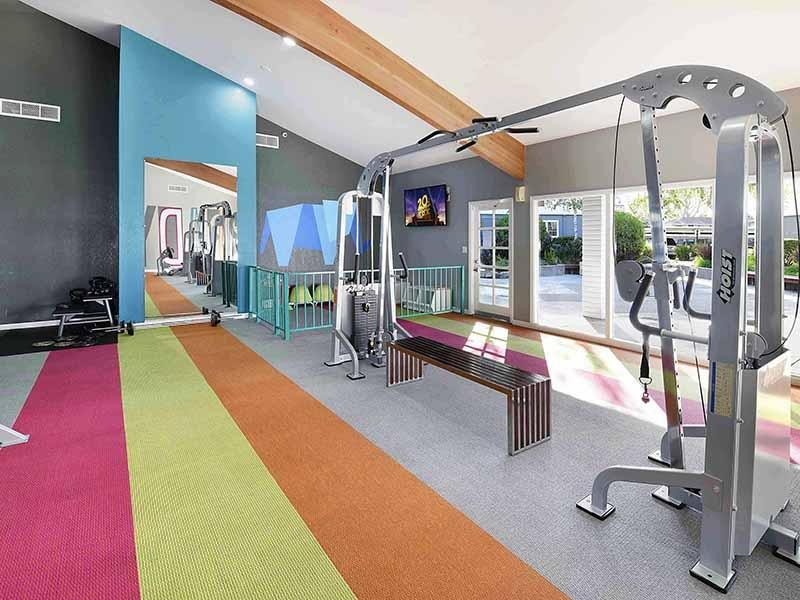 Gym  | Camden Village Apartments