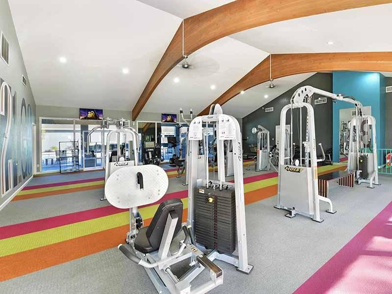 Fitness Center  | Camden Village Apartments