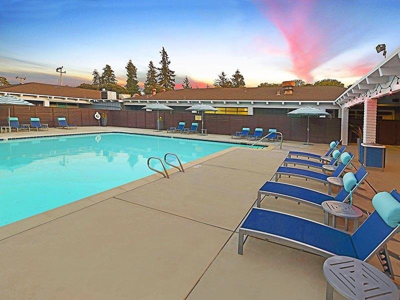 Sparkling Pool | Camden Village Apartments