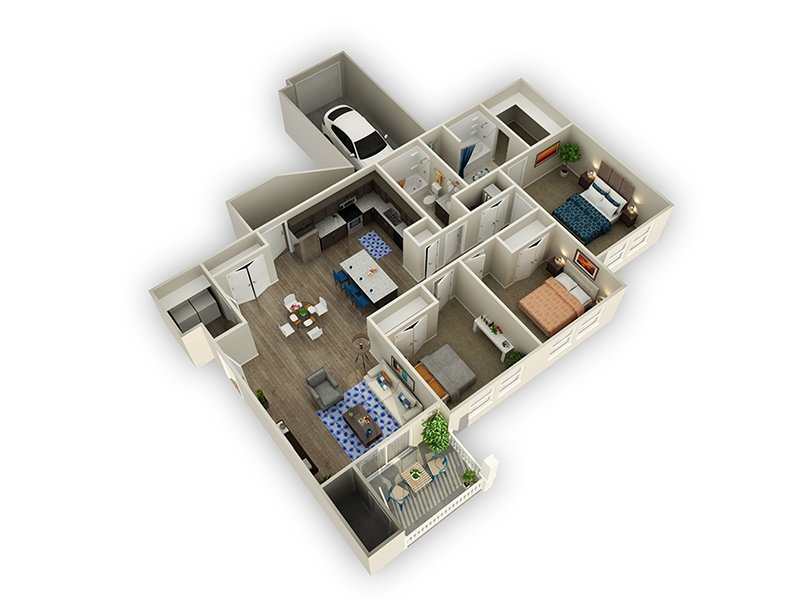 Floor Plans at Alloy at Geneva Apartments