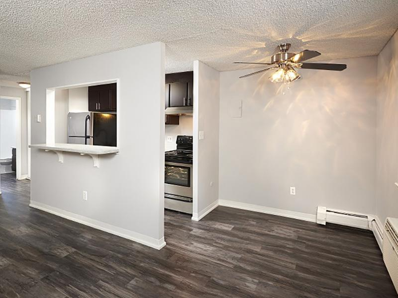 Living Room | 52nd Marketplace Apartments