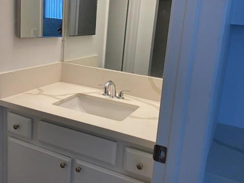 Bathroom | Studio Arnaz Apartments in Los Angeles, CA