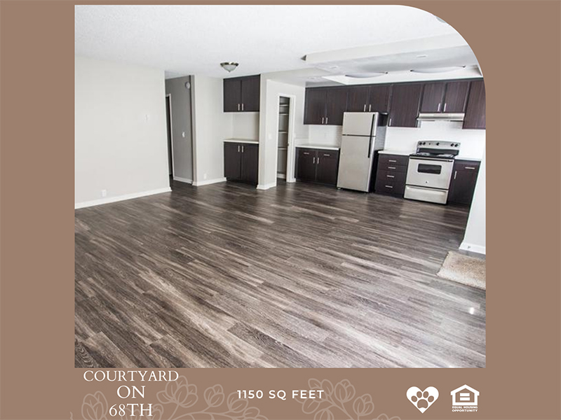 Floor Plans at Courtyard on 68th Apartments