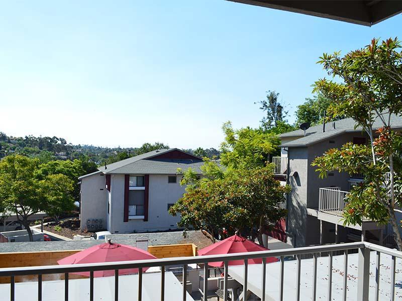 Patio View | Hillside Terrace