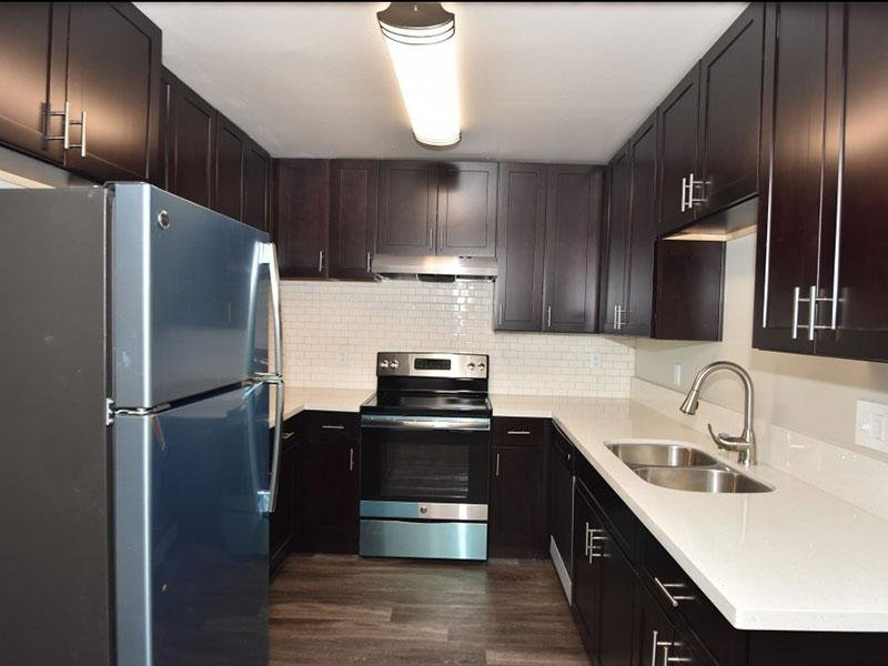 Updated Kitchen | City Terrace Apartments